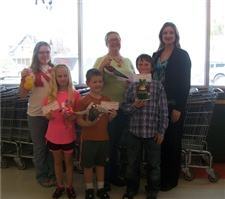 2012 Egg Decorating Contest winners -- March 2012