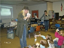We interact with kids during Smart Money Week -- November 2009